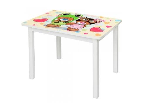 """Детский деревянный столик со стульчиком """"Мишки"""" BSM2K-27"""