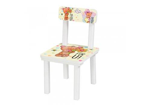 """Детский деревянный столик со стульчиком """"Мишки"""" BSM2K-34M"""