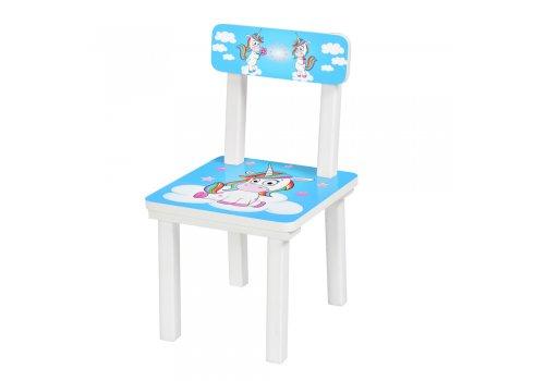 Детский деревянный столик со стульчиком Радуга BSM2K-35