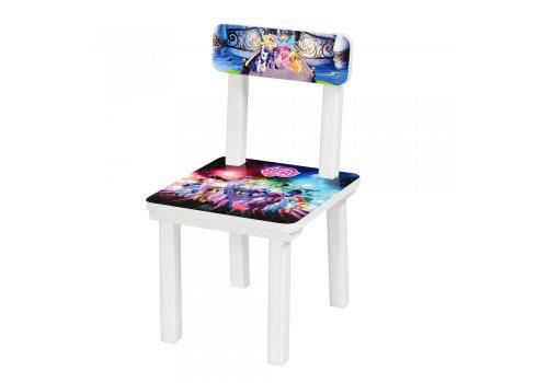 Детский деревянный столик со стульчиком My Little Pony BSM2K-M03