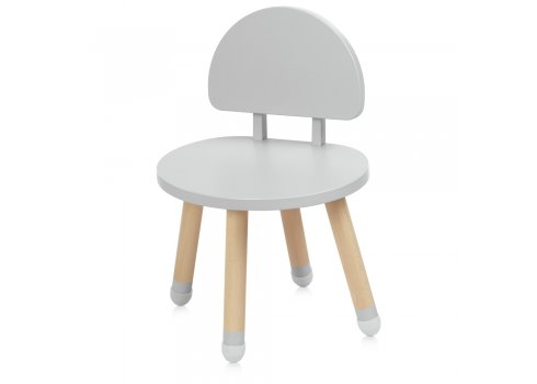 Детский столик со стульчиком Bambi Mushroom M 4254 gray