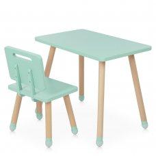 Детский столик со стульчиком Bambi Square M 4256 mint