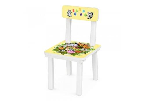 Детский деревянный столик со стульчиком Зоопарк BSM2K-46
