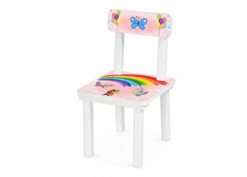 Детский деревянный столик со стульчиком Слоник BSM2K-47UA укр алфавит