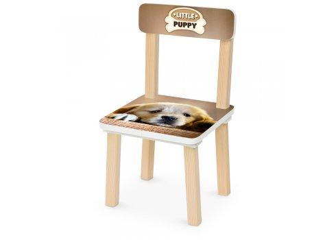 Деревянный столик и два стульчика Щеночек 501-102