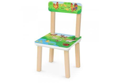 Деревянный столик и два стульчика Ферма 501-108