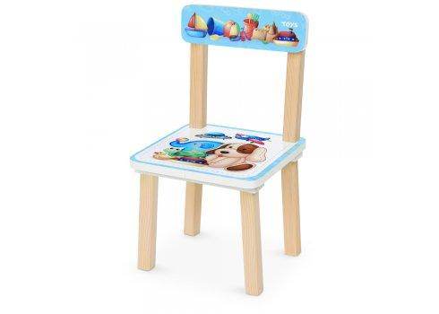 Деревянный столик и два стульчика Игрушки 501-110