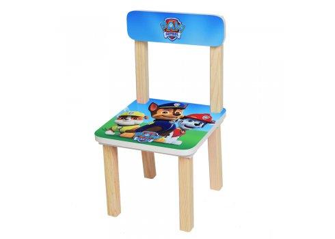 Деревянный столик и два стульчика Щенячий патруль, 501-32