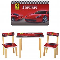 Деревянный столик и два стульчика Ферарри 501-47