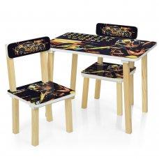 Деревянный столик и два стульчика Transformers (Трансформеры) 501-54