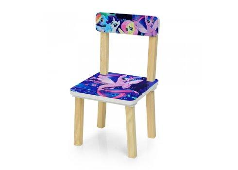Деревянный столик и два стульчика My Little Pony (Литл Пони) 501-55
