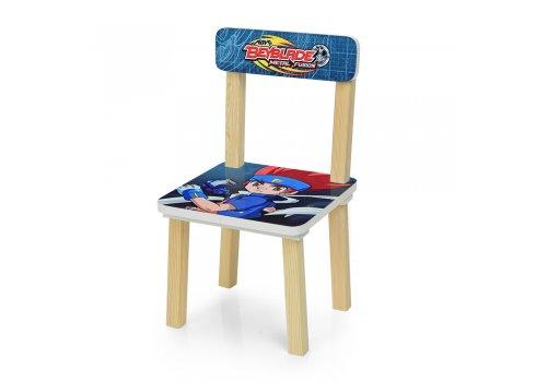Деревянный столик и два стульчика Beyblade 501-56