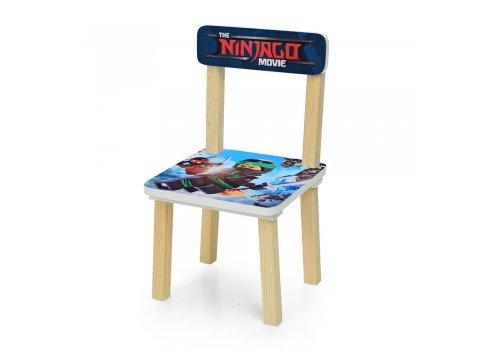 Деревянный столик и два стульчика Ninjago 501-57