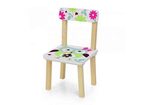 Деревянный столик и два стульчика Сова 501-61