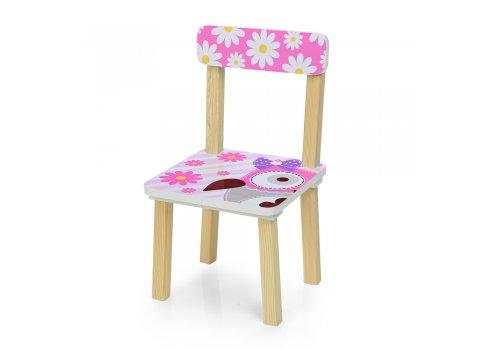 Деревянный столик и два стульчика Сова 501-63