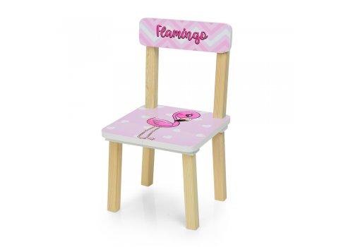 Деревянный столик и два стульчика Фламинго 501-71