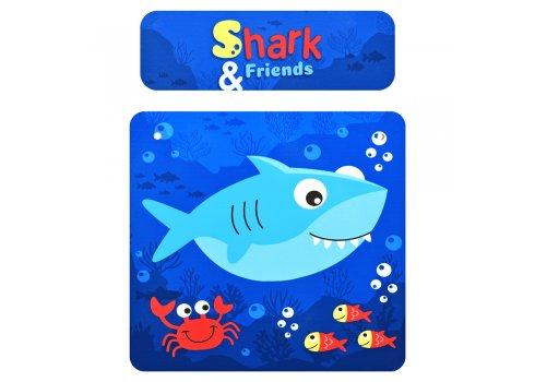 Деревянный столик и два стульчика Shark Акула 501-74
