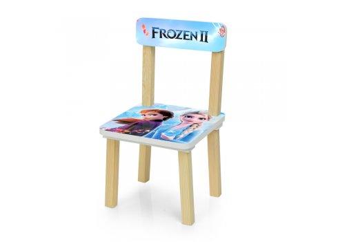 Деревянный столик и два стульчика Zrozen Холодное сердце 501-81
