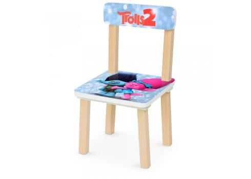 Деревянный столик и два стульчика Тролли Trolls 501-84