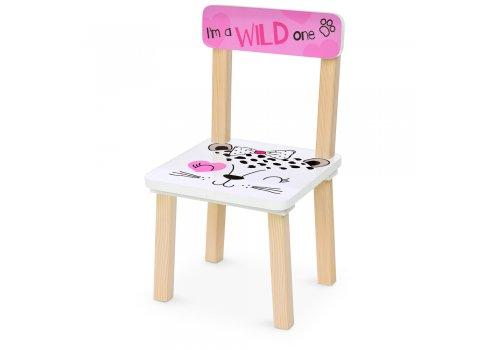 Деревянный столик и два стульчика 501-88