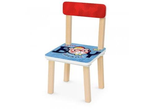 Деревянный столик и два стульчика Мальчик BOY 501-90