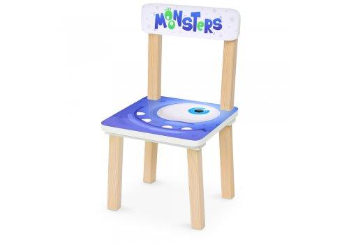 Деревянный столик и два стульчика Монстрики Monsters 501-91