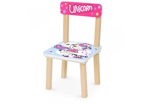 Деревянный столик и два стульчика Единорог Unicorn 501-92