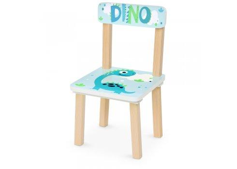 Деревянный столик и два стульчика Динозавр DINO 501-93