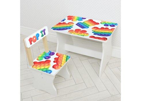 Детский стол и стул Поп Ит BAMBI 504-128