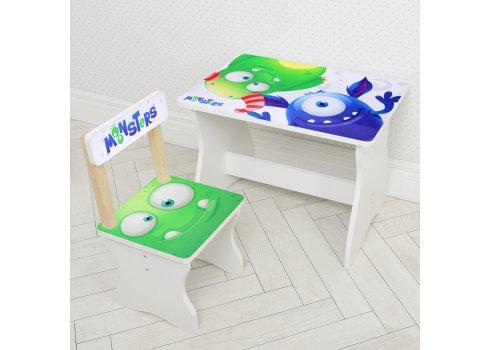 Детский стол и стул Монстры BAMBI 504-91