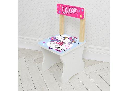 Детский стол и стул Единорог BAMBI 504-92