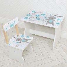 Детский стол и стул BAMBI Заяц 504-113
