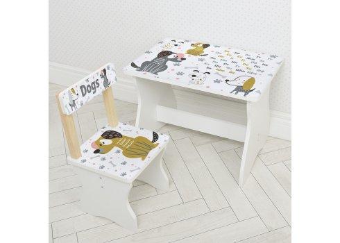 Детский стол и стул BAMBI Собачка 504-116