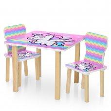 """Детский стол и два стульчика """"Единорог"""" 506-65"""