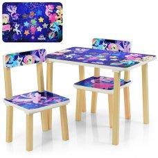 Детский столик и два стульчика Май Литл Пони 507-55