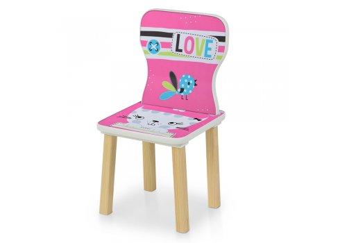 Детский столик и 2 стульчика Кошка 508-58-1