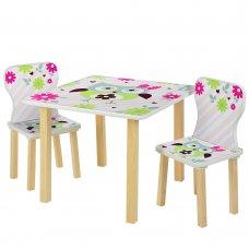 Детский столик и 2 стульчика Сова 508-61