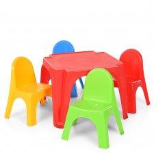 Детский набор столик со стульчиками 52-900