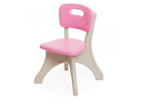 Детский столик с двумя стульчиками BAMBI ETZY-8 бежево-розовый