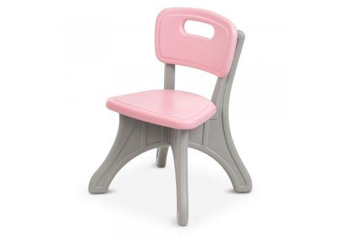 Детский столик с двумя стульчиками BAMBI NEW TABLE-8 розовый