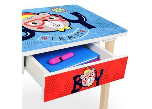 Детский столик с ящиком и стульчик BAMBI 803-3