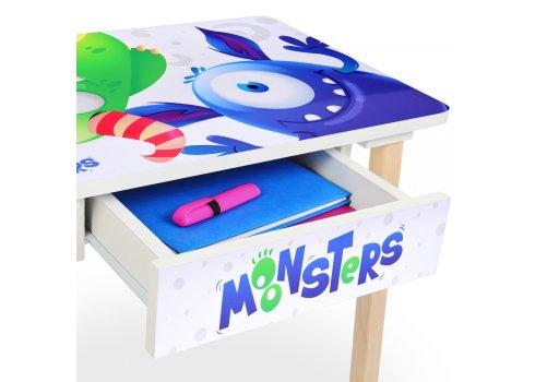 Детский столик с ящиком и стульчик BAMBI Monsters 803-4
