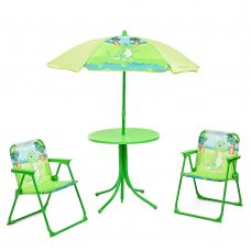 Столик с зонтиком и стульчиками Bambi Динозавр 93-74-DINO