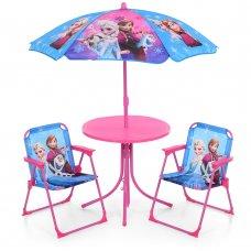 Столик с зонтиком и стульчиками Bambi Холодное сердце 93-74-FR