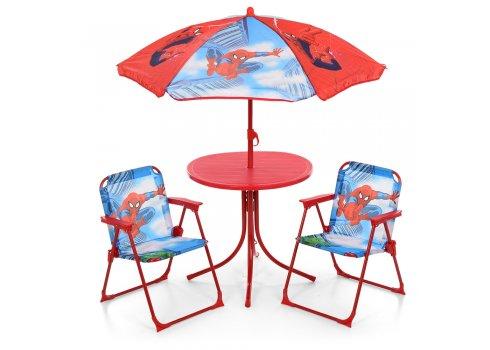 Столик с зонтиком и стульчиками Bambi Spider-Man 93-74-SP