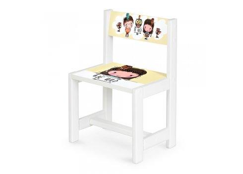 Детский деревянный столик со стульчиком Индейцы BSM1-07