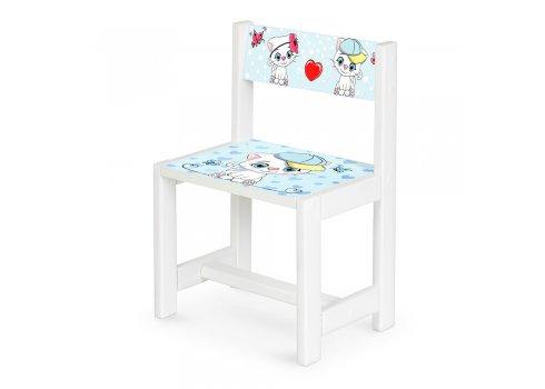Детский деревянный столик со стульчиком Котята BSM1-25
