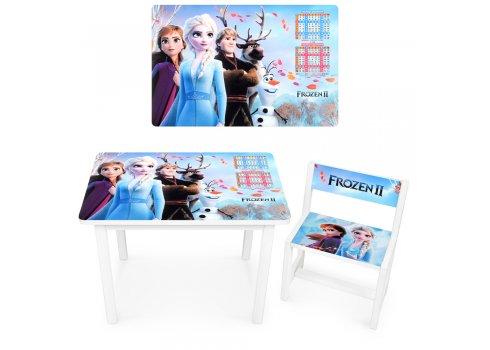 Детский деревянный столик со стульчиком Frozen Холодное сердце BSM1-41