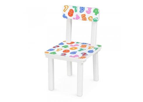 """Детский деревянный столик со стульчиком """"Цифры"""" BSM2K-84"""