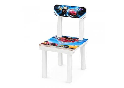 """Детский деревянный столик со стульчиком """"Тачки"""" BSM2K-M05"""